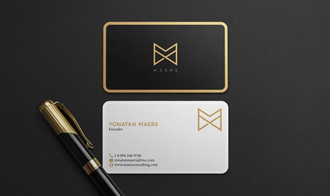I will do professional business card design and stationery