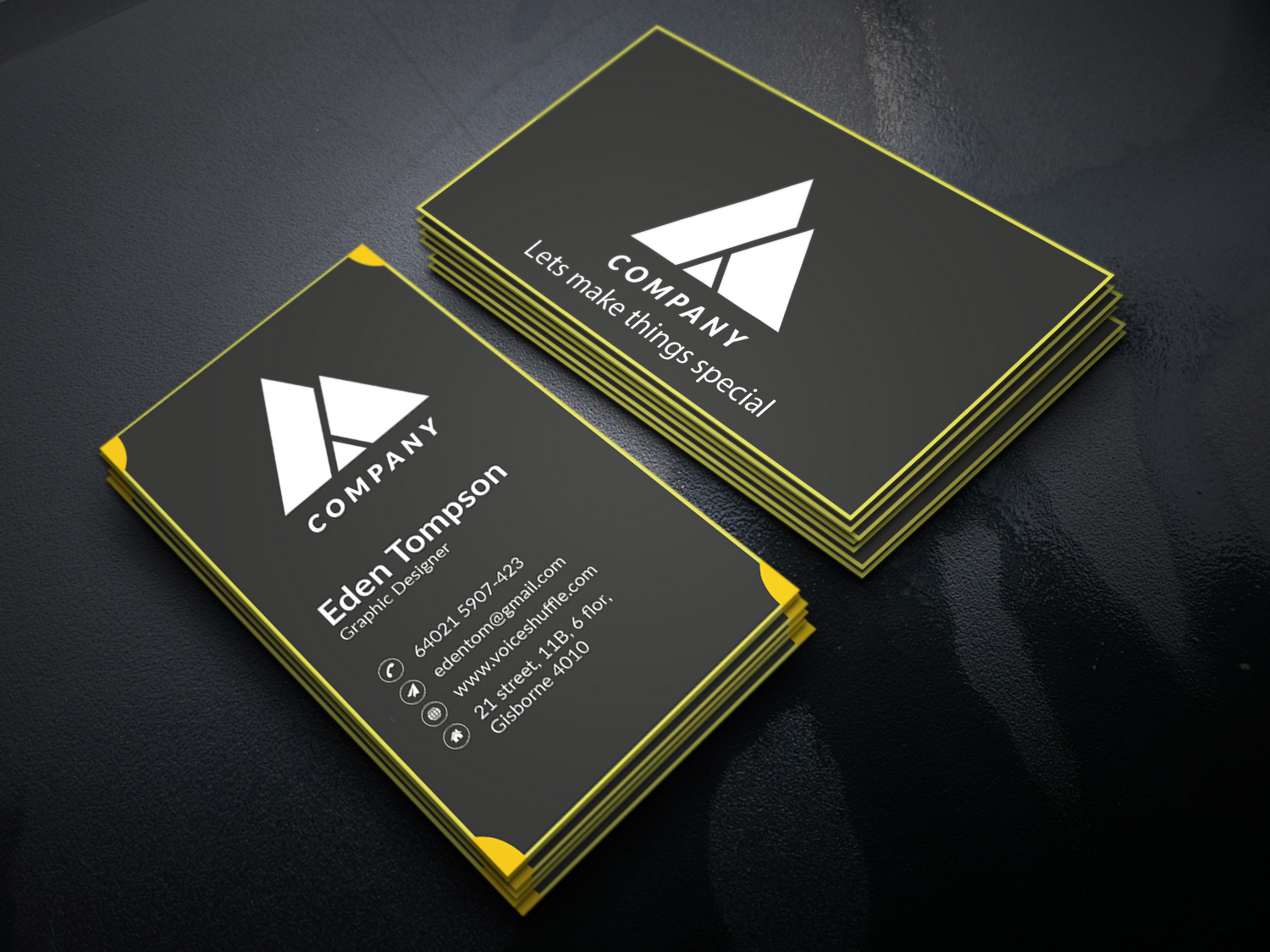 I will do professional corporate business card Design