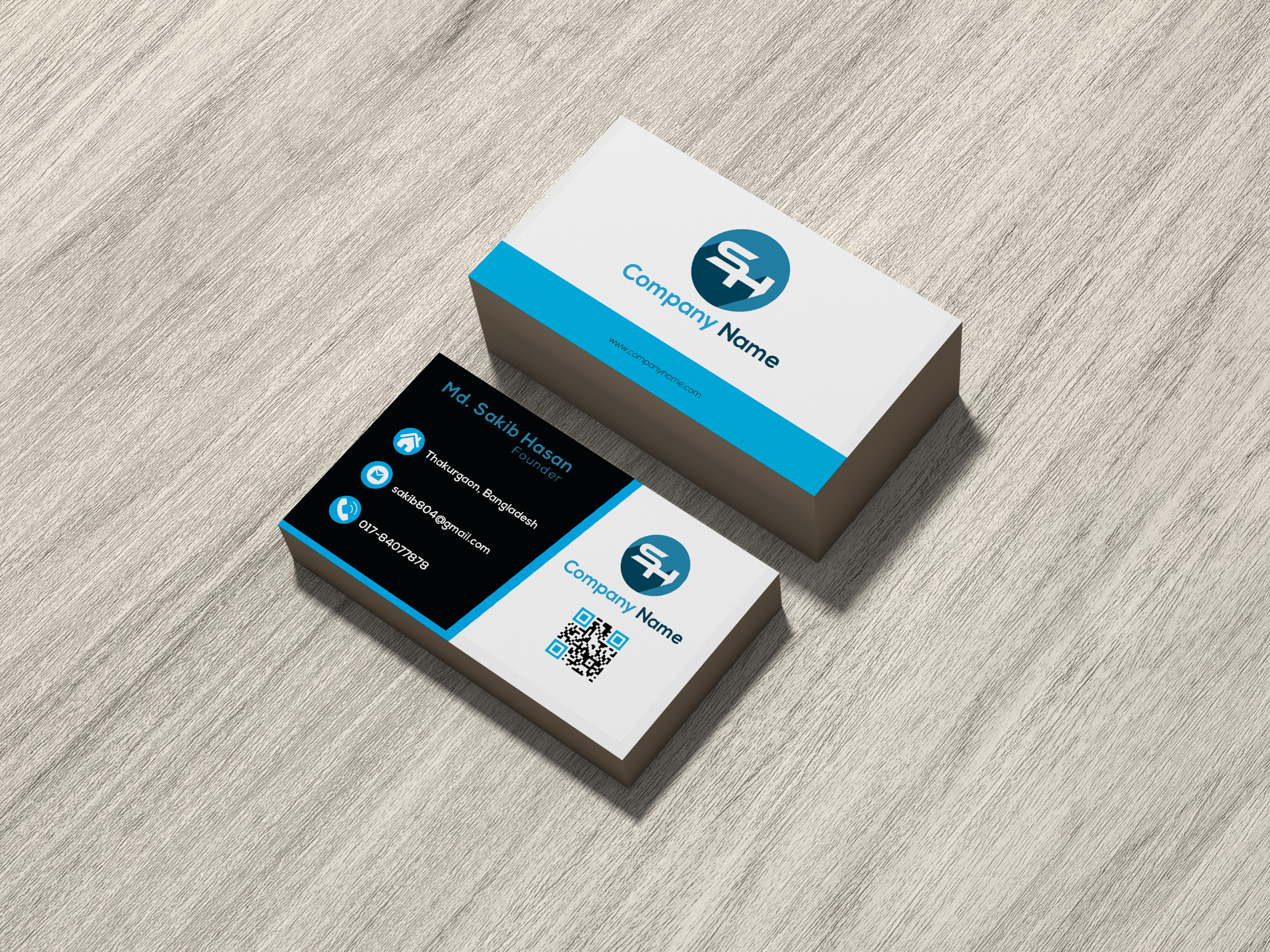 I will design a professional business card on time.