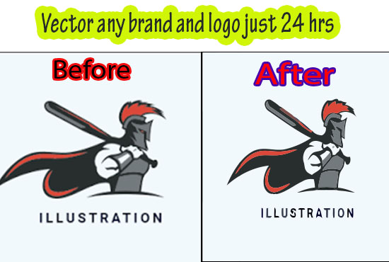 I will convert low quality logo image to vector with ai, eps, svg, cdr. PDF