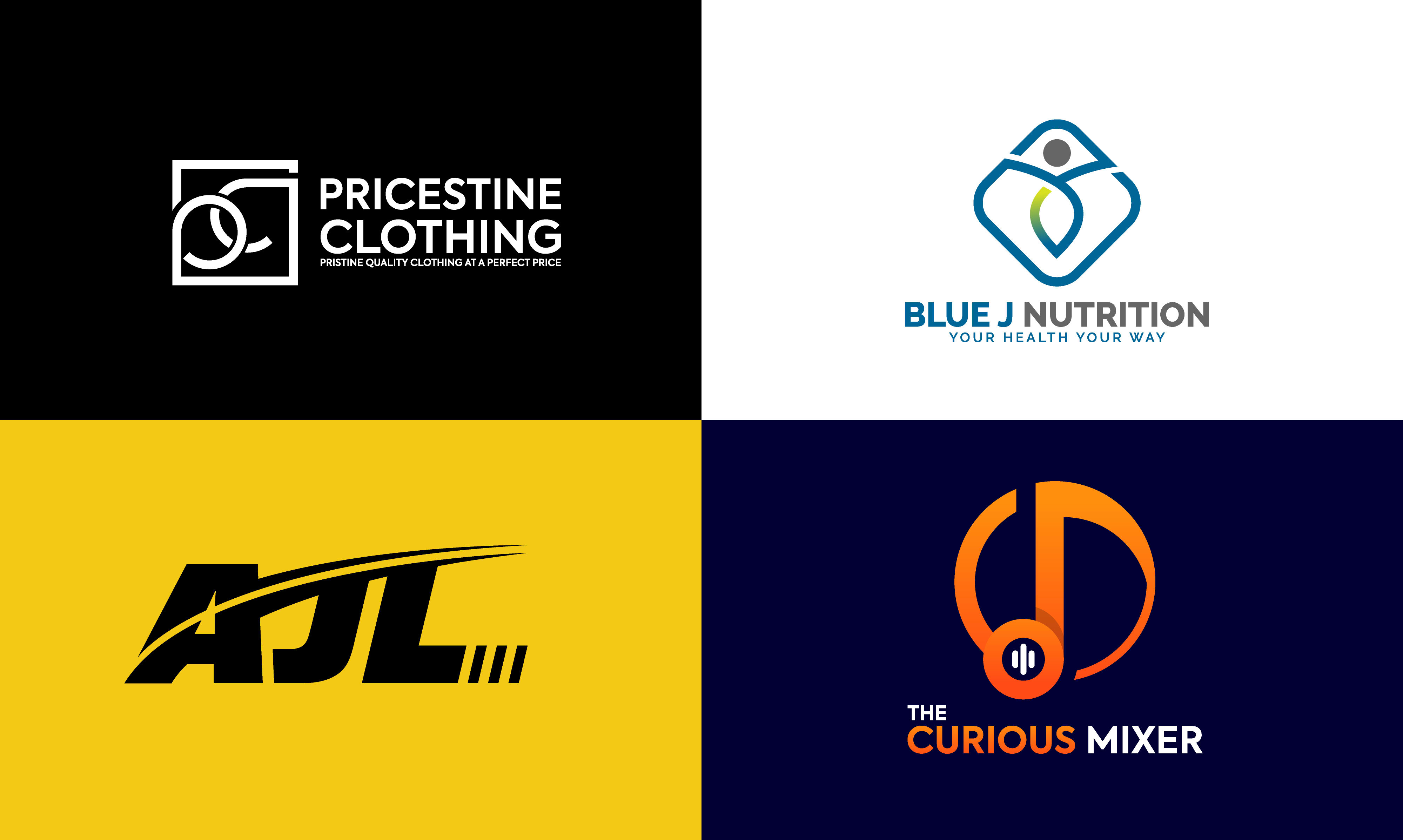 I will design minimalist logo design for your company or brands