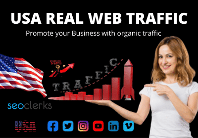 I will promote website with real traffic USA targeted web traffic