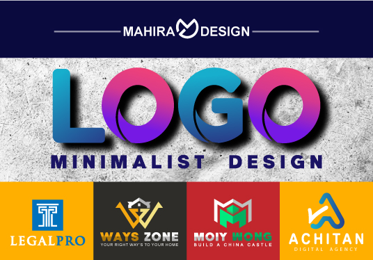design a modern busines logo for business brand product