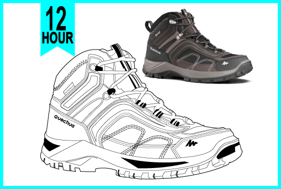 draw vector line art detailed outline of your image or logo