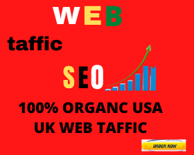 I will send organic targeted web traffic