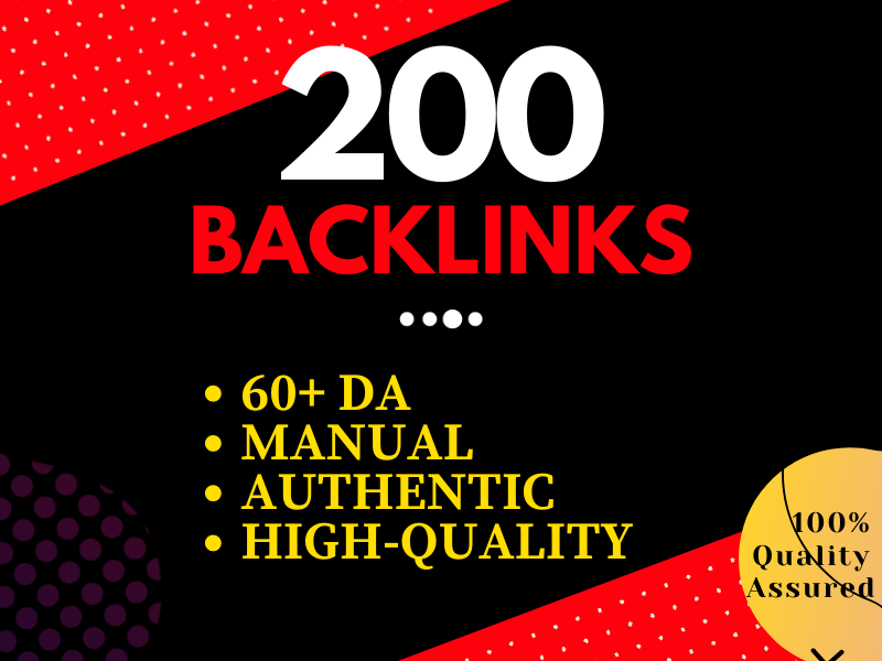 I will Create 200 Dofollow Profile Backlinks with high-quality DA and PA