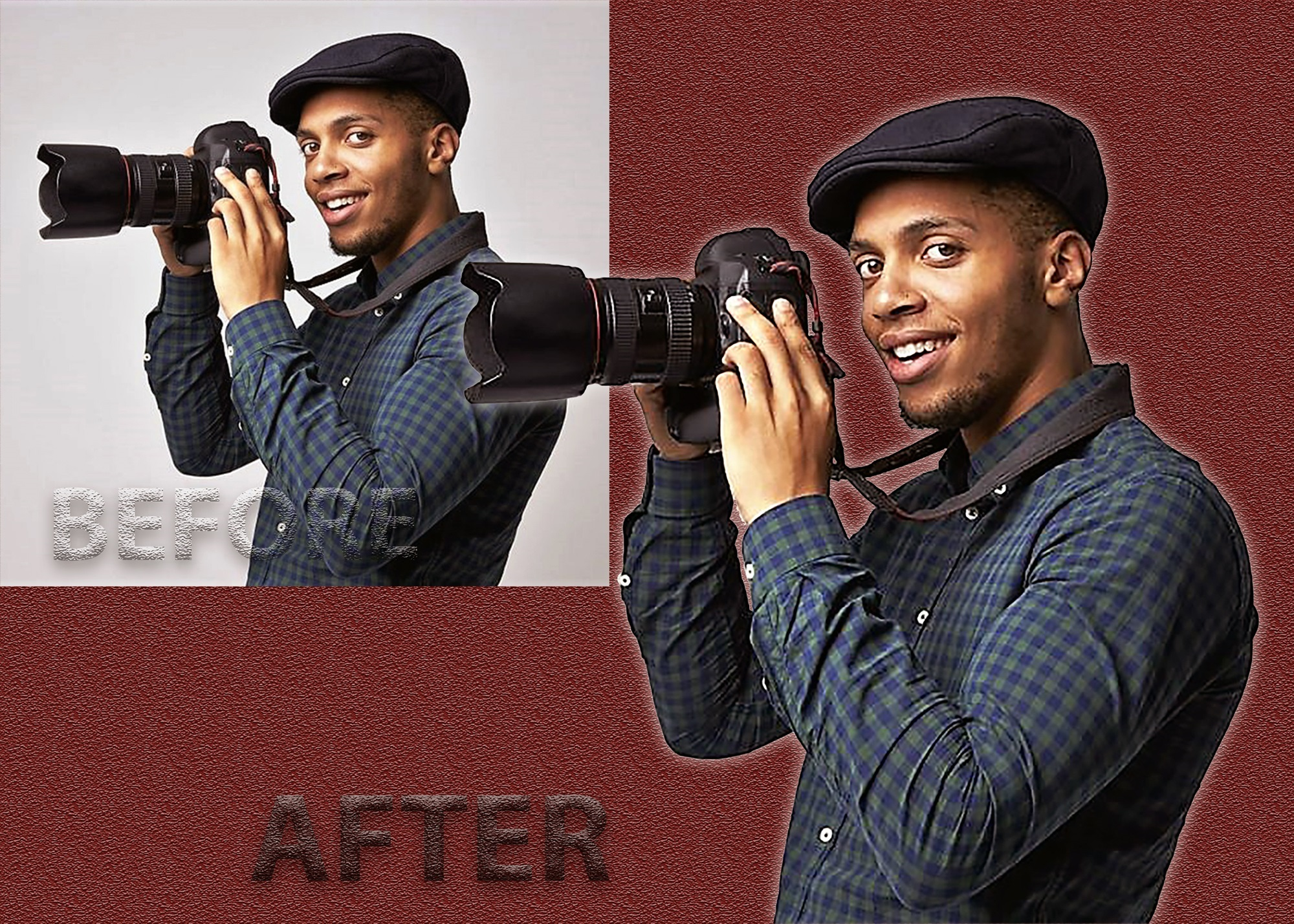 I will do photo editing,  resizing and background removal