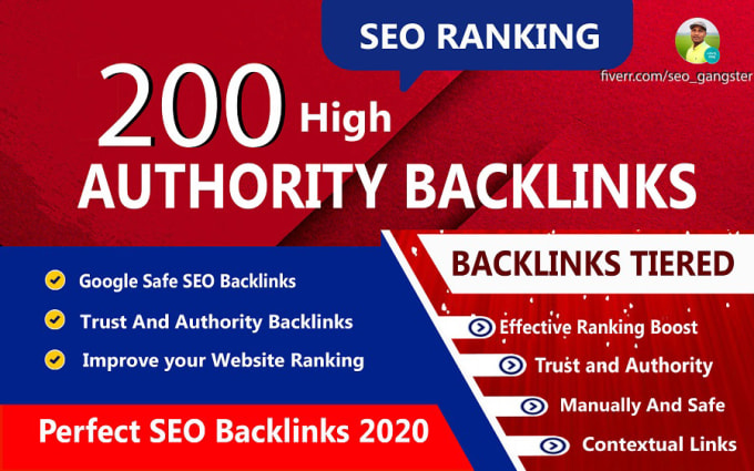 I will do 200 high authority profile backlinks on high domain authority sites