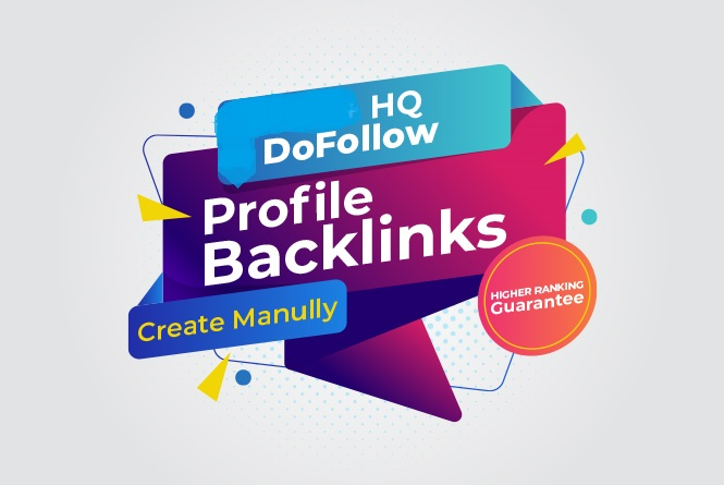I will Do 150+ HQ Profile SEO Backlinks For Link Building