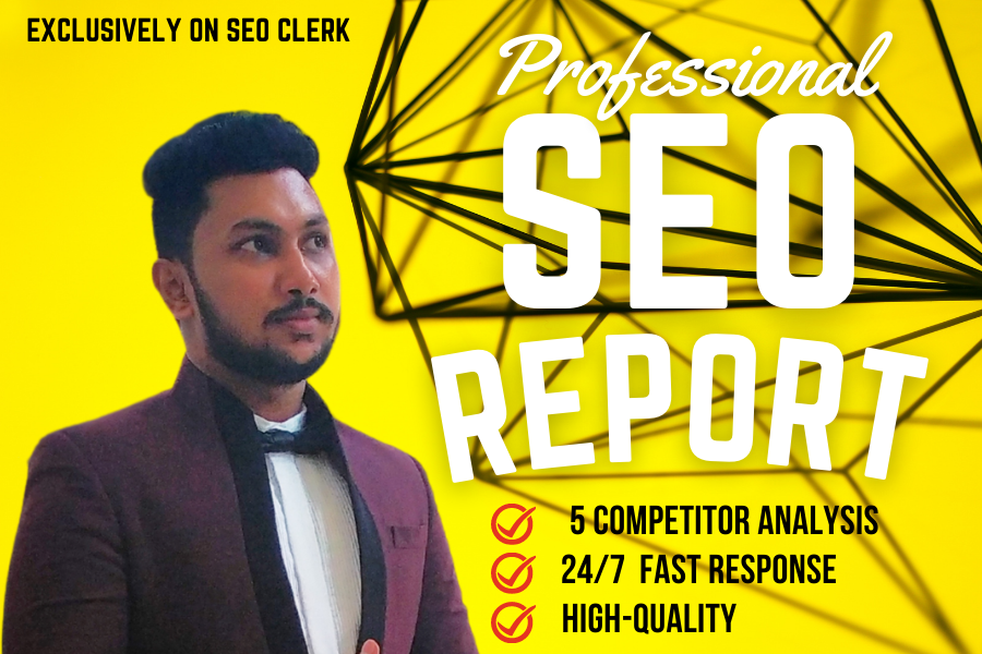 I can Provide Professional SEO Audit Report