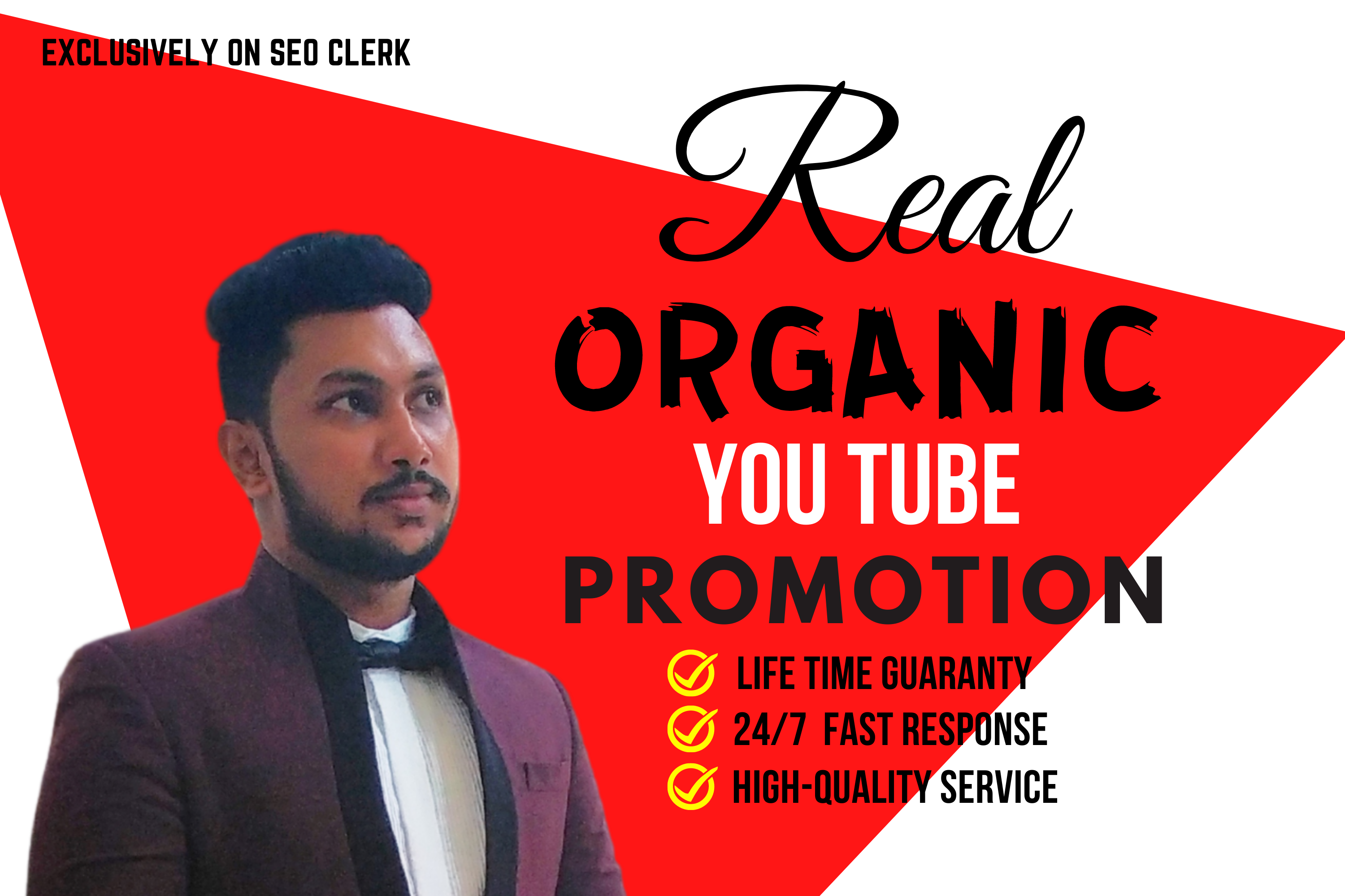 I can do Youtube video Promotion and Marketing for Go Viral