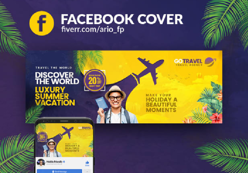 I will create professional facebook banner designs