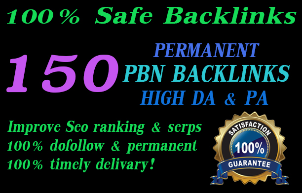 I will build 150 web20 super high da blogs backlinks