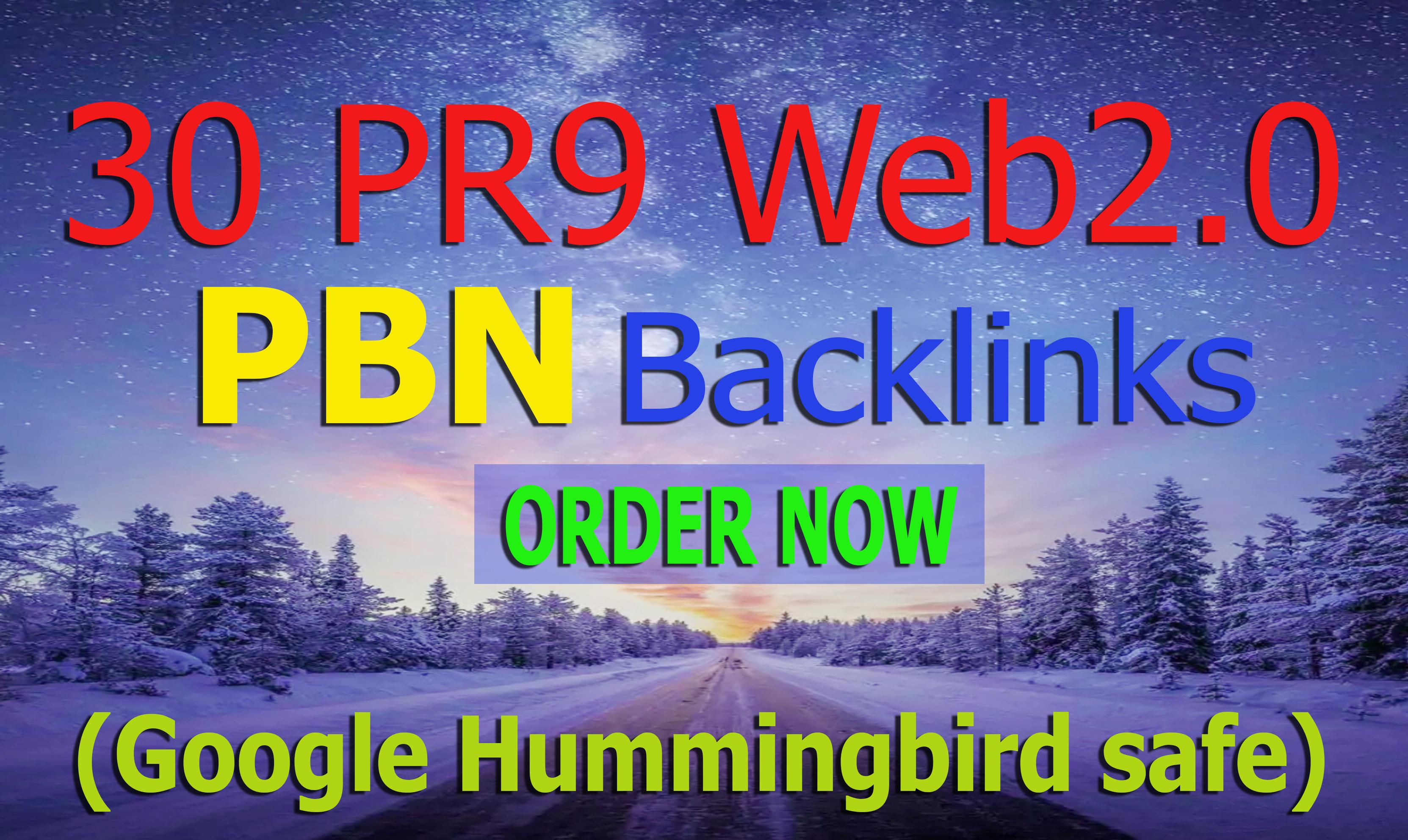 30 Homepage web2.0 PBN Post with High DA PA CF Backlinks