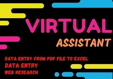 I will be your reliable and talented virtual personal assistant