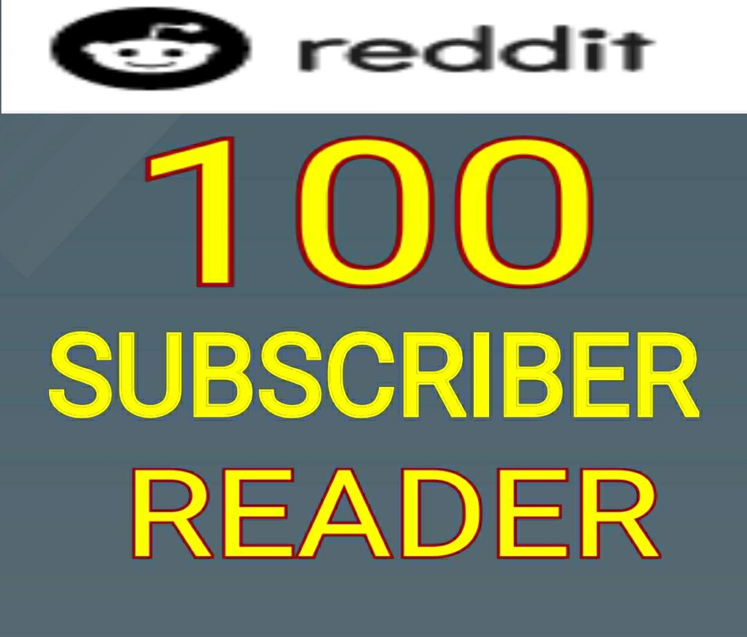 High Quality 100+Original Reddit Subreddit Readers