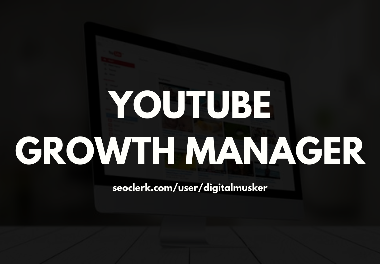 YouTube SEO Growth Manager For Top Ranking