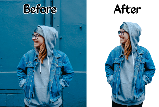 I will remove or change background of any images within minutes