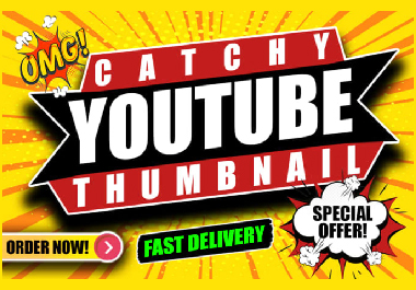 I will design youtube Thumbnail and Header Image