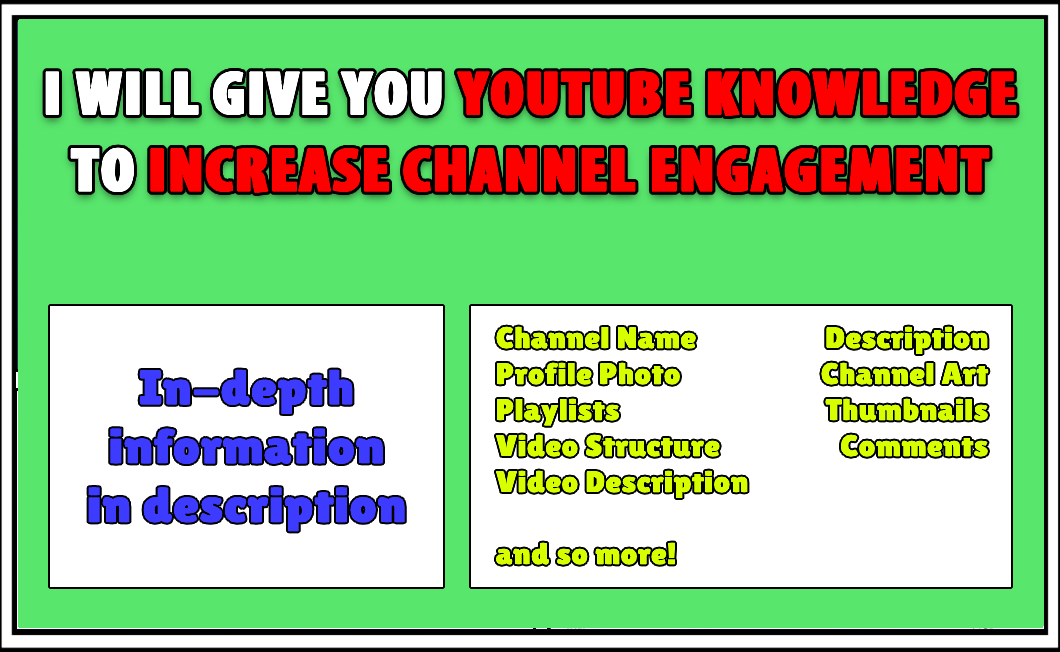 Youtube Knowledges To Increase Engagement