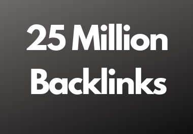 25 Million dofollow backlinks high da and pa sites for multitier backlink for youtube and website