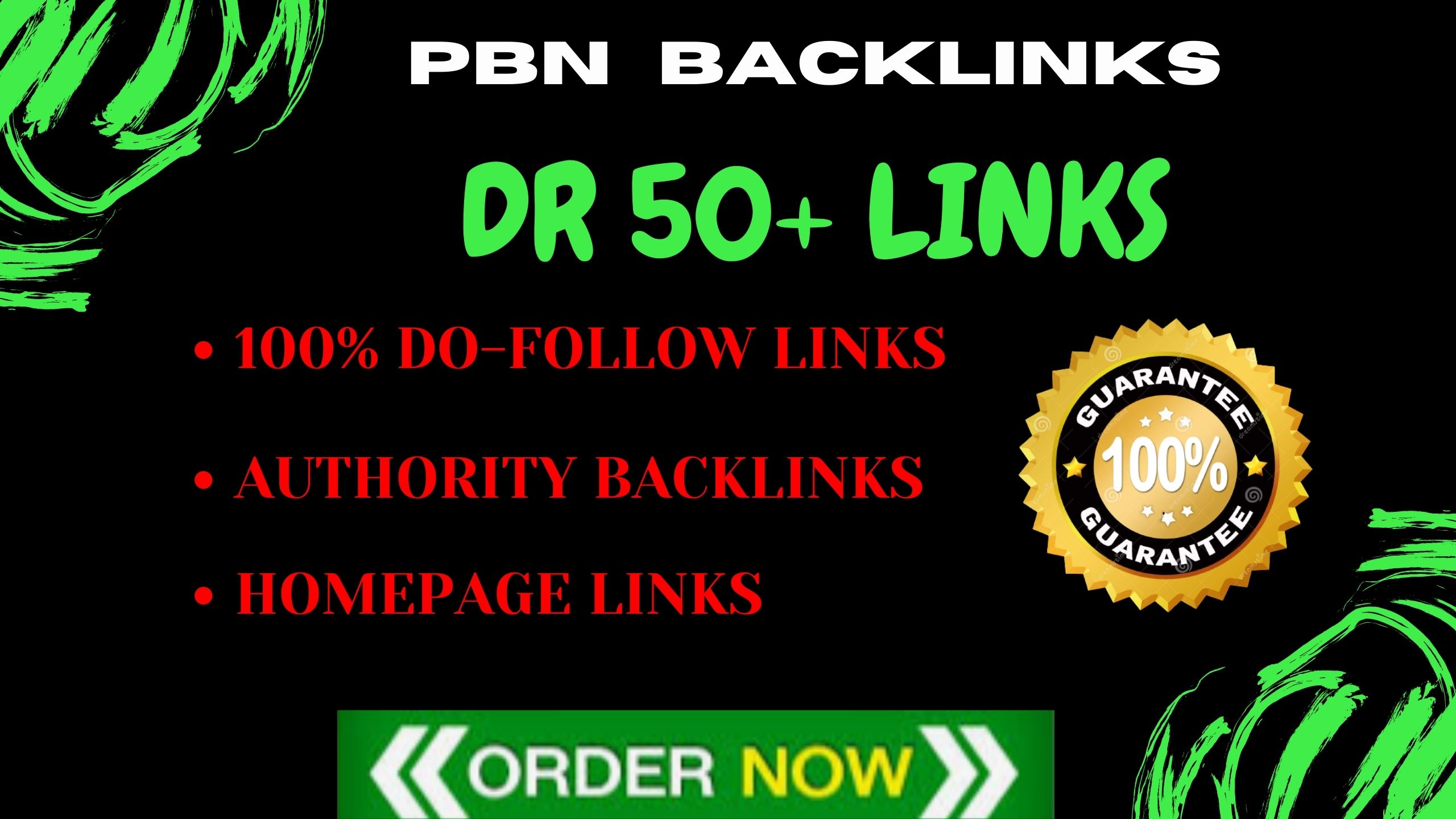 I will make 5 high quality dofollow backlinks for SEO services