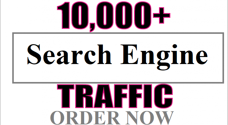 Super 10,000 Web traffic from Main Search Engine