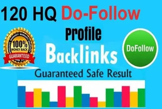 Build Up 120 HomePage PBN Backlinks All Dofollow High Quality Backlinks.