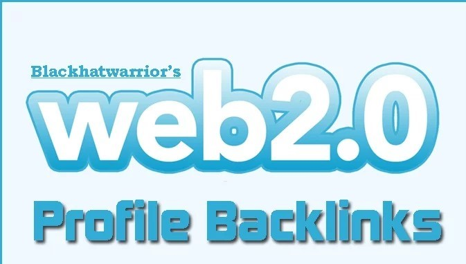 Create over 150 High Page Rank WEB 2.0 Profile Back Links for your website.