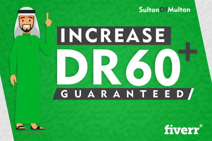 I will increase domain rating DR 50 plus ahrefs domain trust authority