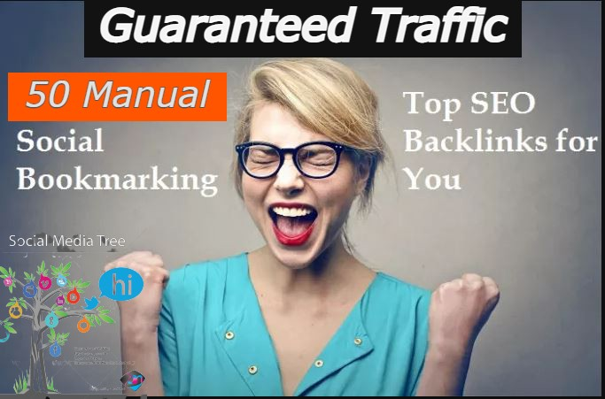 50 HQ manual social bookmarking top seo backlinks for Your Website