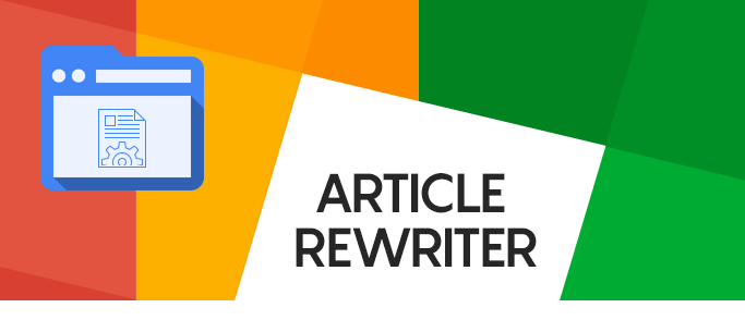 I will be an SEO content writer and article rewriter