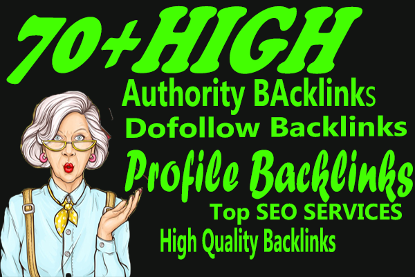 I will create 70 USA dofollow profile backlinks