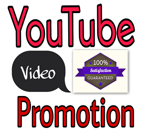 YouTube Video Promotion marketing package