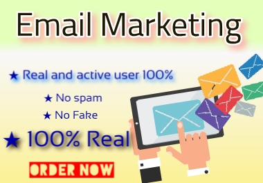 I will be 1.5k USA Email listing for marketing