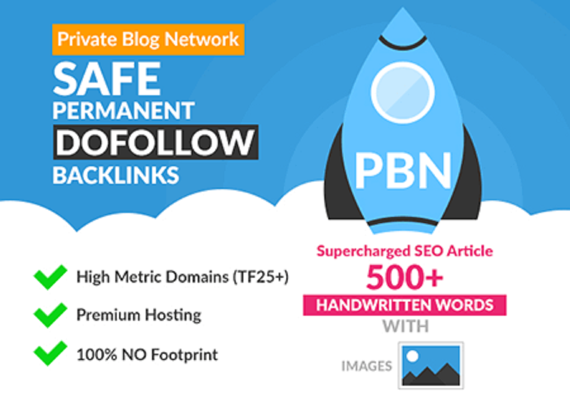 I will do 20 high quality PBN Web2.0 backlinks that will boost your website ranking