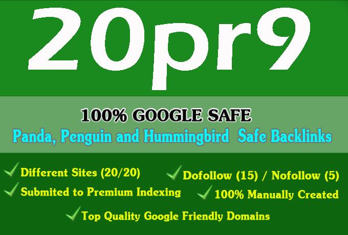80+ DA PA 20 Pr9 High Quality SEO Domain Authority Permanent Backlinks
