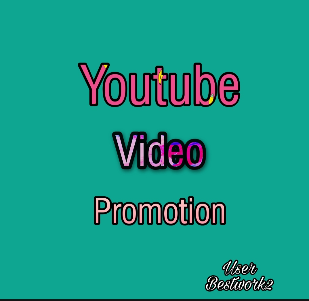 I will do YouTube Chenel promotion