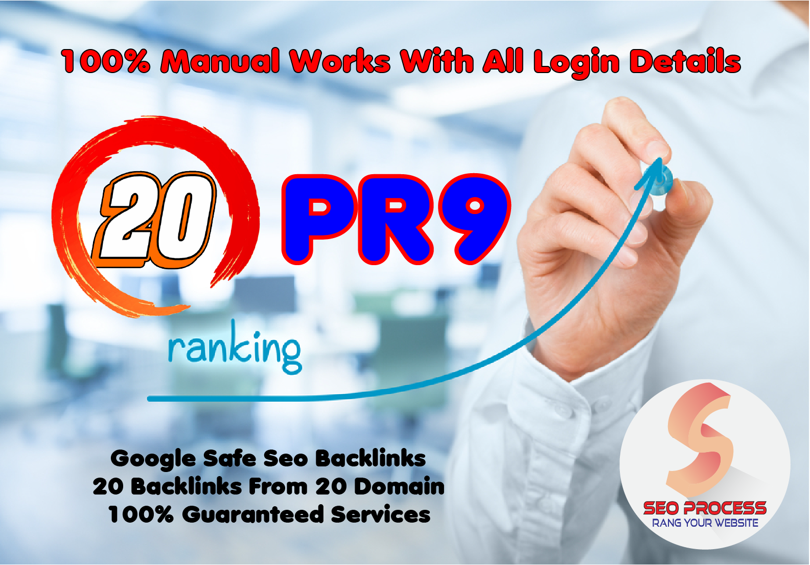 20 Pr9 - 90+ DA High Quality SEO Domain Authority Permanent Backlinks - Fire Your Google Ranking
