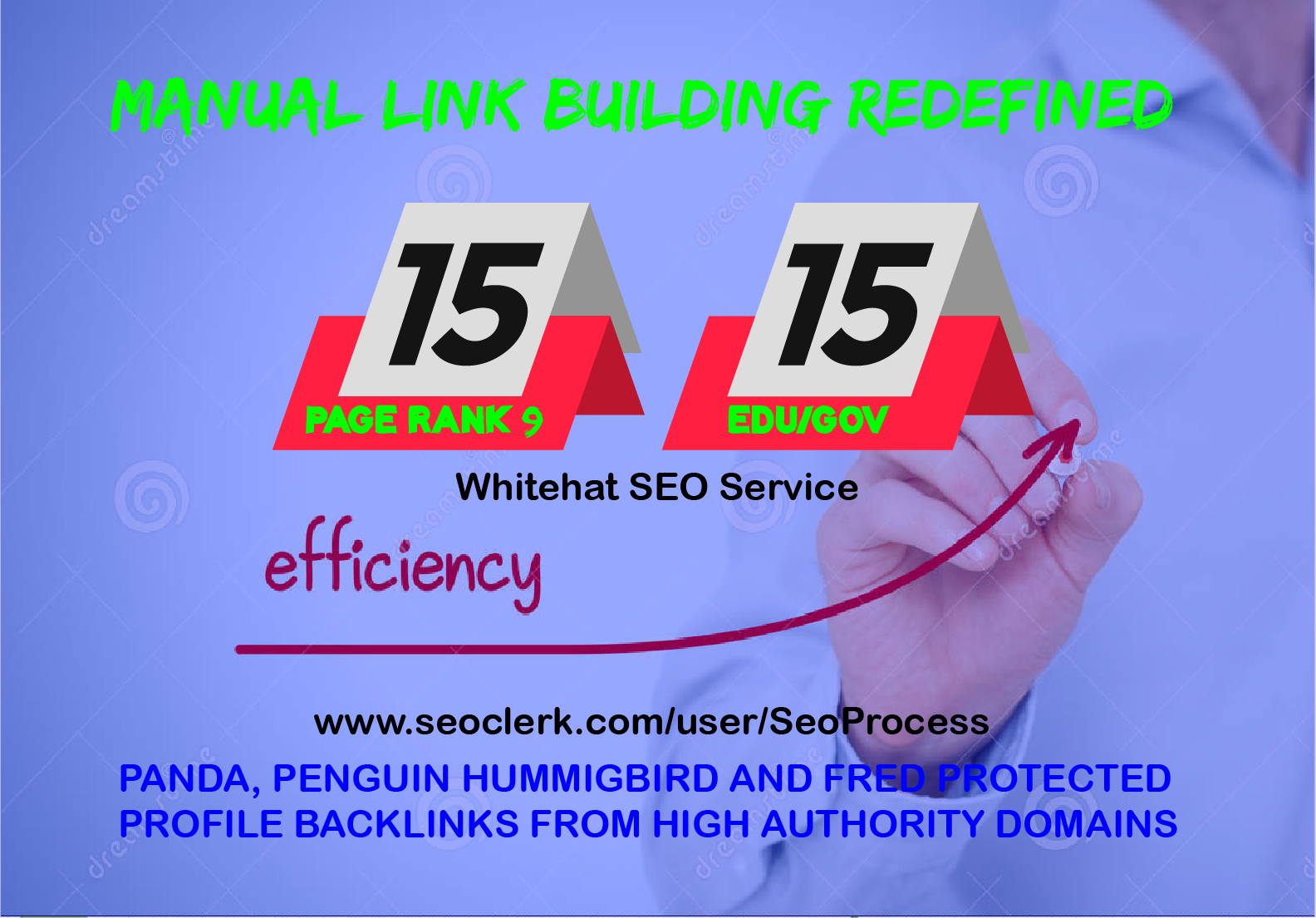 15 Pr9 + 15 Edu/Gov - High Pr SEO Authority Backlinks - Fire Your Google Ranking