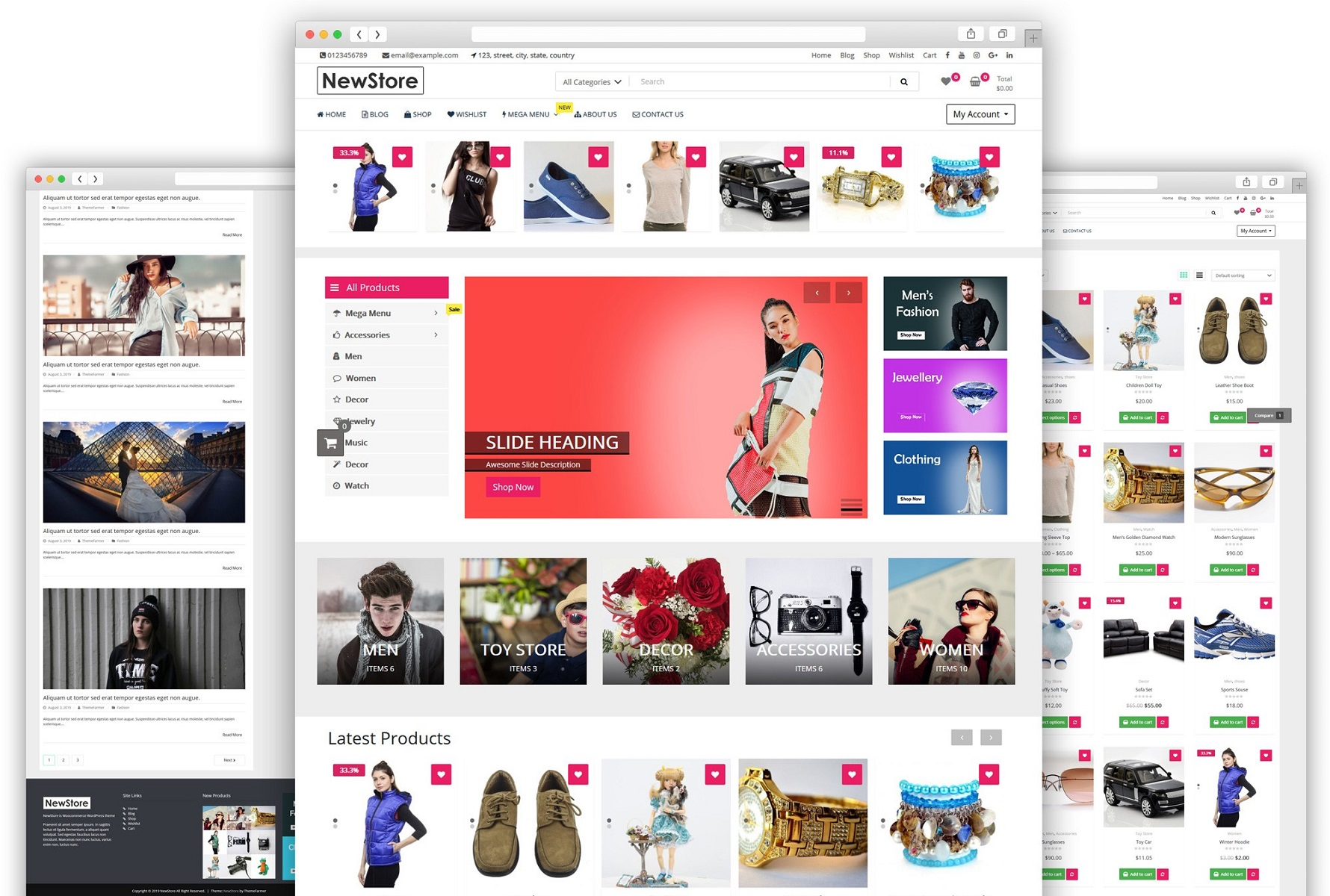 I will build ecommerce website online store with wordpress woocommerce