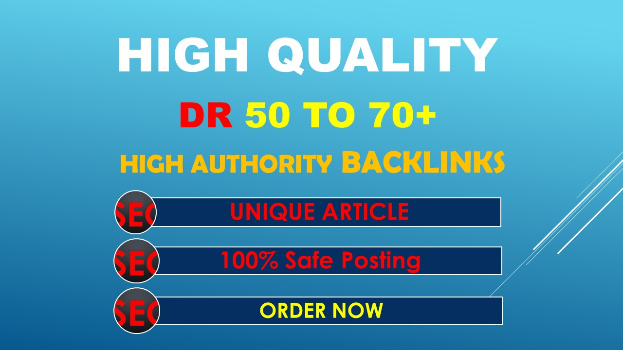 i will increase ahref domain rating to 50+