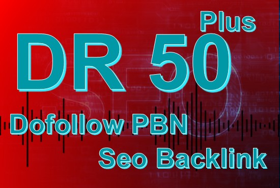 Build 15 HomePage dofollow PBNs Posts Backlinks DR50Plus