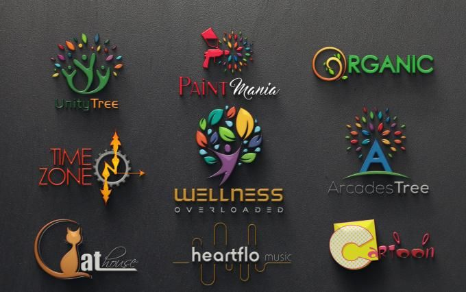 I will create Modern Custom Logo