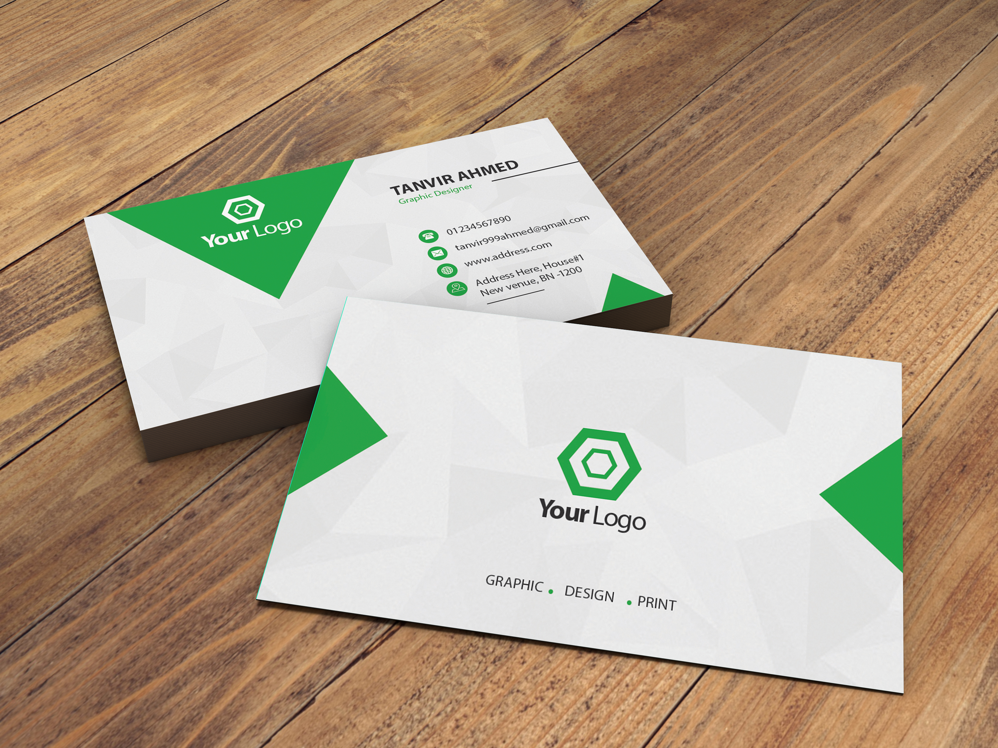 I will do design different stylish business card