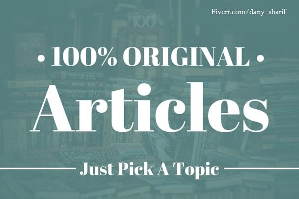 I will do 50 article submission contextual backlinks