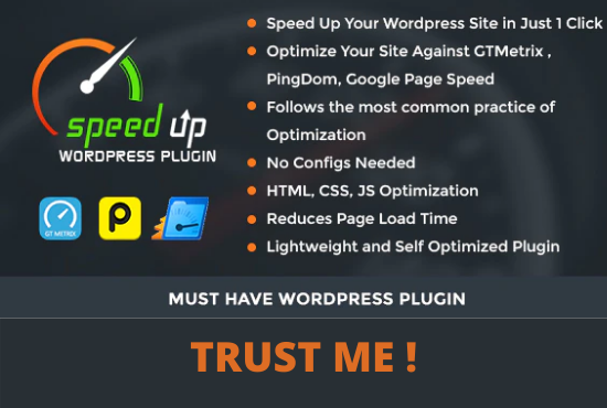 I Will speed Up your Wordpress wesbite and improve load time