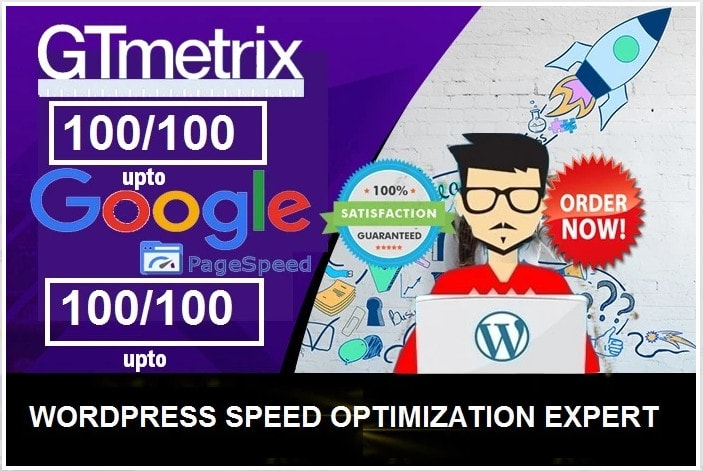 I will do Increase WordPress website,  Super fast website load time