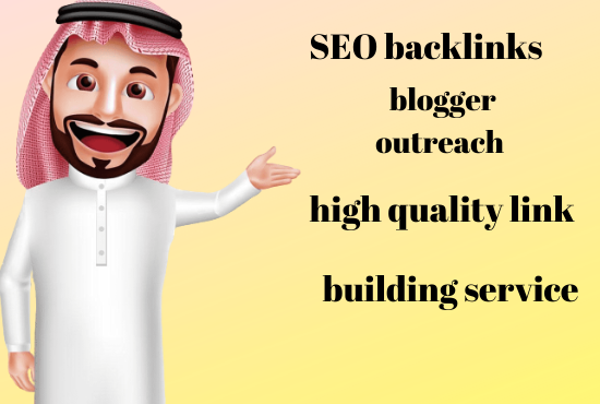I will create SEO backlinks through blogger outreach high quality link building service