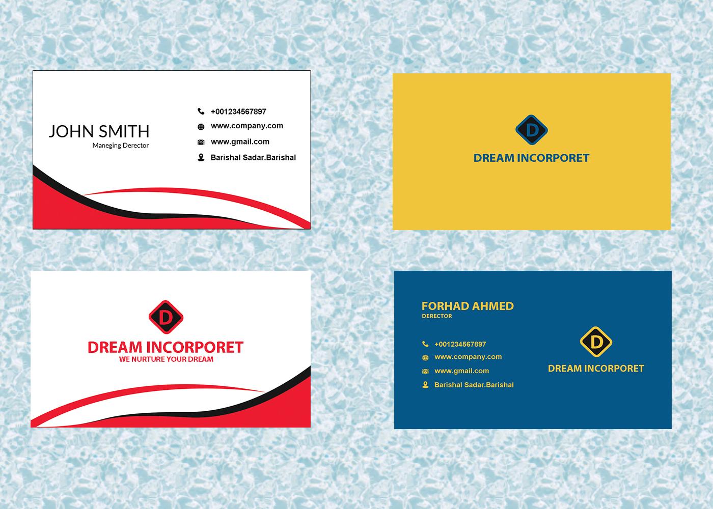 I will make creative professional business card